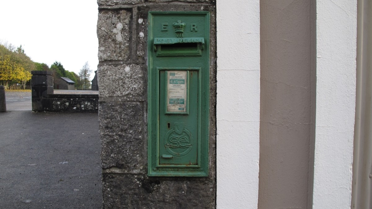 Cast Iron Post box c. 1905